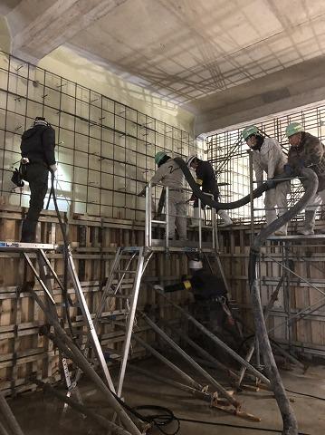 基礎工事 型枠工事 施工現場 建設 土木 エクステリア 株式会社武井組